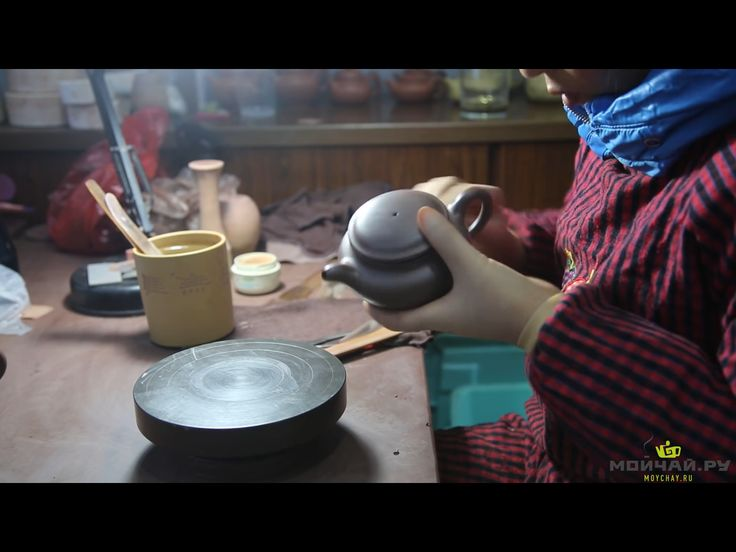 @Moychay The birth of the Isinsky Teapot. Making teapots from scratch, semi-manual method.