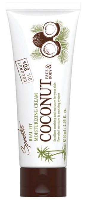 Spometics Real Fit Moisturizing Coconut Cream (60g) #Spometics