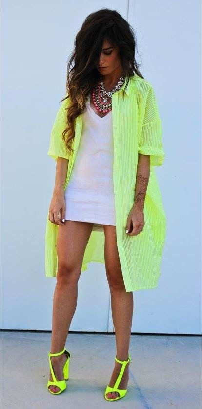 Neon Outfit Ideas For Girls