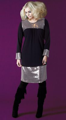 Plus Size Fashion: anna scholz plus size dresses 2013