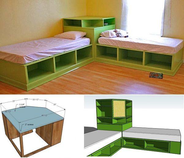 Best 25+ Corner beds ideas on Pinterest | Diy small ...