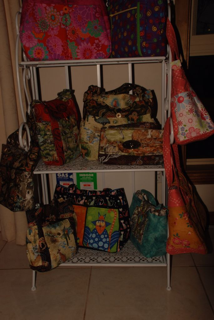 Just a few new bags for sale.