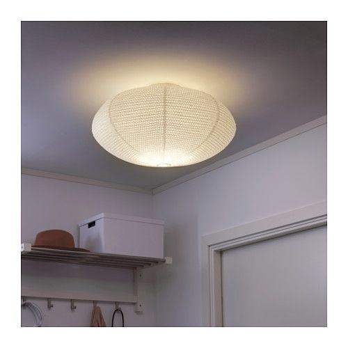 This SOLLEFTEÅ IKEA light also looks somewhat like a sea anemone and at just 15€ way undercuts all other alternative lighting options but it's just made of paper, so it obviously does not look as fancy as the other options.