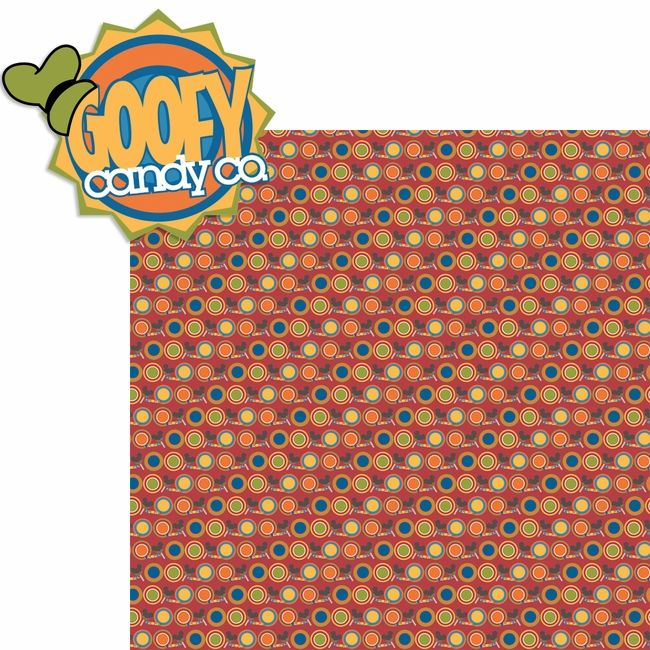 Downtown: Goofy Candy Co. 2 Piece Laser Die Cut Kit