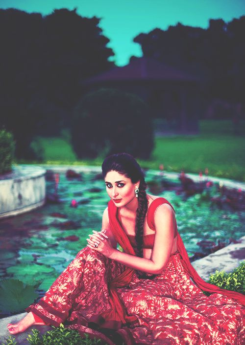 The stunning Kareena kapoor in red. #bridal #indian #wedding