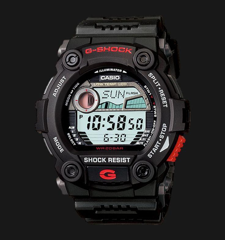 Beli jam tangan Casio G-Shock G-7900-1DR - Daftar Harga jam termurah, review, spesifikasi lengkap Indonesia di Jamtangan.com