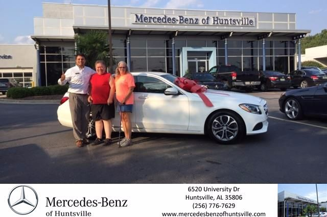 This makes the 4th car we have purchased from Mercedes Benz of Huntsville. Our salesman Amir Samadani is very well educated in the different cars on the lot and has helped us tremendously with making the right choice each and every time. I would recommend anyone looking for a new car or a used car to please give Mercedes Benz of Huntsville and Amir Samadani a chance to earn your business. Thanks again Amir!!!! - Debra Cowles #HappyCustomers #FridayFeeling