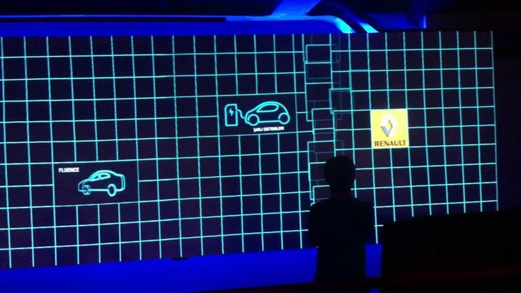 Interactive Media Wall by We Dream