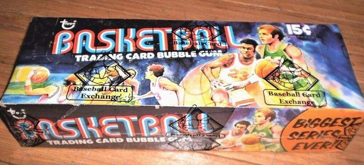 1984 topps baseball cards unopened box