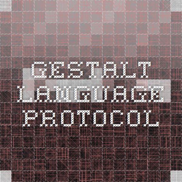 Gestalt Language Protocol