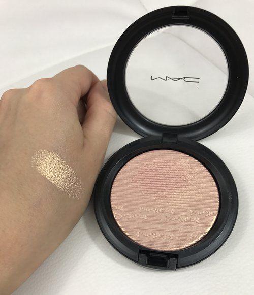 MAC Extra Dimension Skinfinish In Beaming Blush