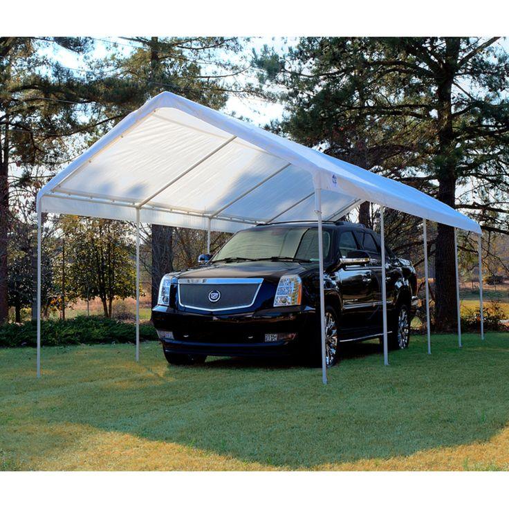 King Canopy 10 x 27 ft. Universal Canopy Carport Carport