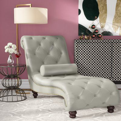 Renhold Chaise Lounge Upholstery: Silver Antique - http://delanico.com/chaise-lounges/renhold-chaise-lounge-upholstery-silver-antique-725809748/