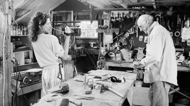 "'Arthur Miller: Writer"" Helmer Rebecca Miller Discusses Her Doc Portrait Of Father Arthur Miller"