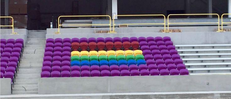 Orlando City SC installs Pulse Orlando tribute seats in stadium - 11/27/16