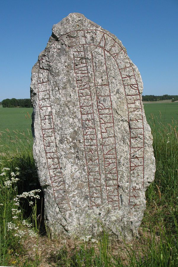 The Greece Runestones of Sweden    The Greece Runestones are about 30 runestones containing information related to voyages made by Norsemen to the Byzantine Empire. They were made during the Viking Age until about 1100  and were engraved in the Old Norse language with Scandinavian runes. All the stones have been found in modern-day Sweden and most of them were inscribed in memory of members of the Varangian Guard who did not make it home.