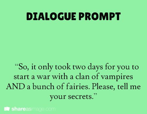 Writing dialogue: 7 examples of dialogues that work