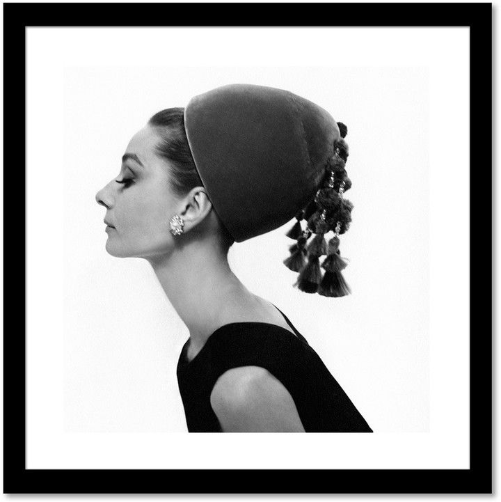 Curioos Audrey Hepburn Framed Print by Cecil Beaton | Products ...