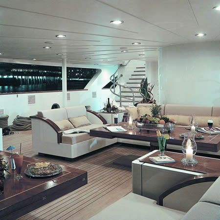 161 best images about yates on pinterest super yachts - Yates de lujo interior ...