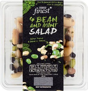 Tesco Finest Three Bean Salad.