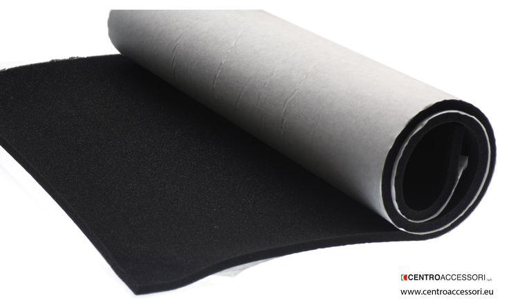 Gommapiuma Flex-90 (Antracite). Flex-90 foam rubber (Gun-metal  grey). #CentroAccessori