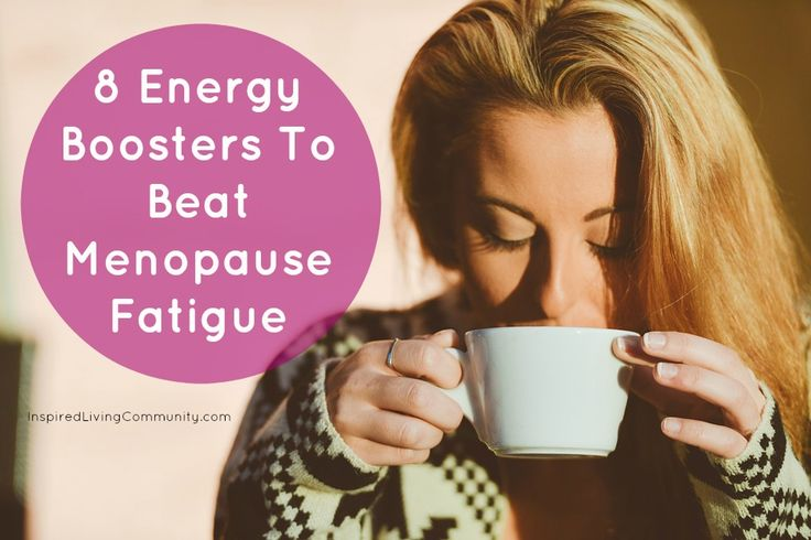 8 Energy Boosters To Beat #Menopause Fatigue.