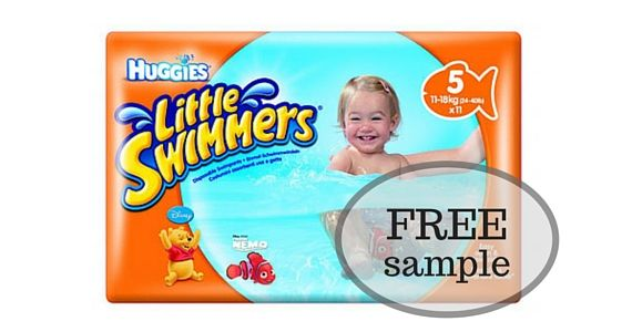 Get a Free Sample of Huggies Little Swimmers