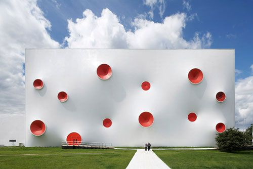Berlin-based firm Magma Architecture designed the truly unforgettable shooting ranges for the London 2012 Olympic Games and the Paralympic Games.