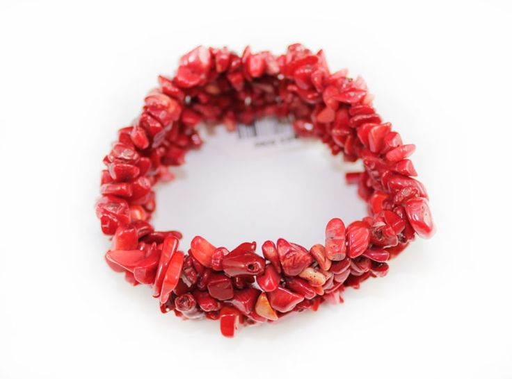 Real Natural Stone Red Coral Bracelet Strechable , One Size Fits All. 100% Real Natural Stone http://nyfashionstar.com/real-natural-stone-red-coral-bracelet.html