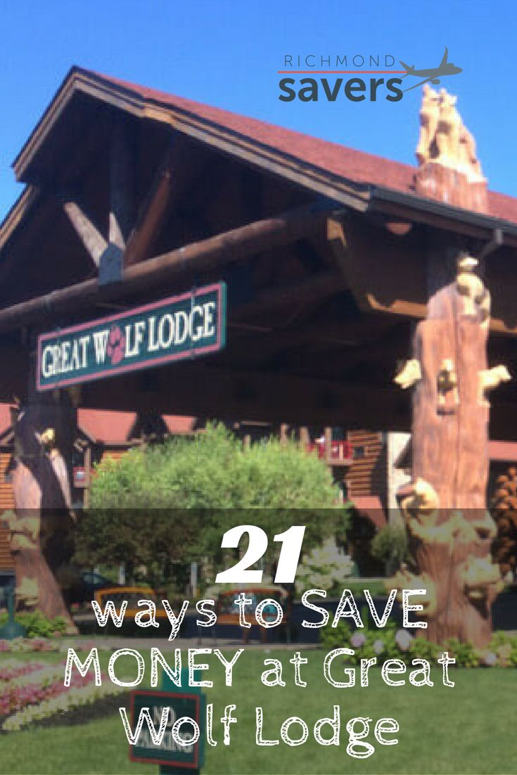 The Great Wolf Lodge indoor waterpark and resort is fun for the whole family. And it doesn't need to be expensive. Use these tips to save BIG on your trip.
