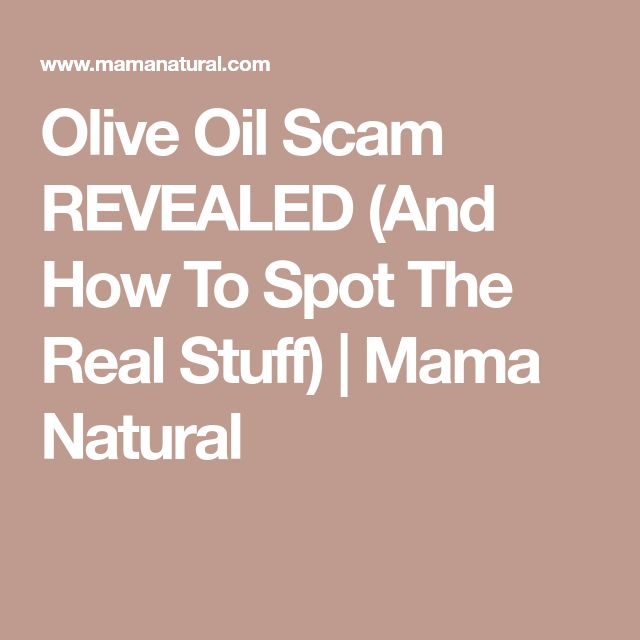 Olive Oil Scam REVEALED (And How To Spot The Real Stuff) | Mama Natural