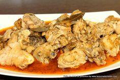 Pollo en salsa de pimentón