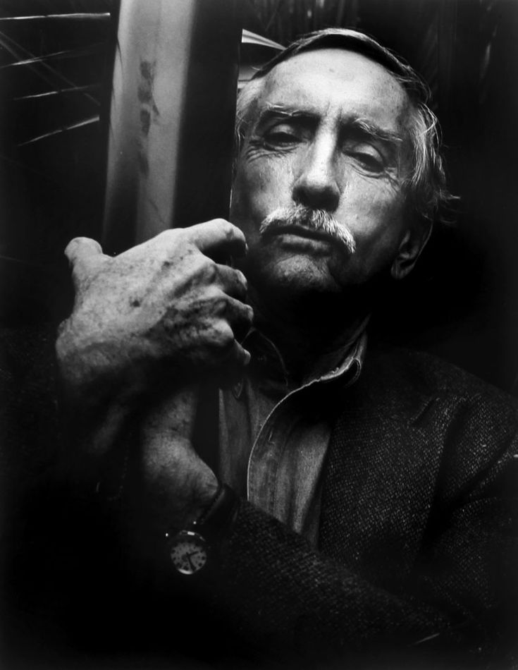 Edward Albee (1928) - American playwright. Photo © Suzanne Paul