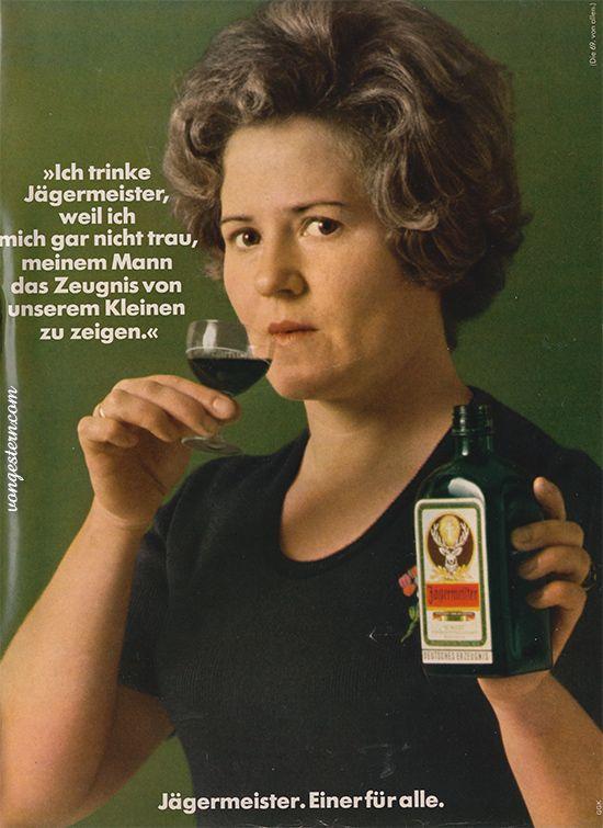 1973 Da war Alkohol trinken in Werbung, im Fernsehen, in der Gesellschaft ... total normal, gehörte sogar dazu. Man erinnere sich nur an damalige Talkshows, den Frühschoppen mit Hofer oder 'Der Kommissar', den Krimi mit Erik Ode