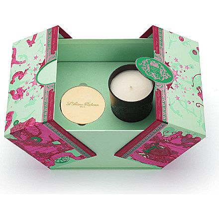 L'ARTISAN PARFUMEUR Cedre Bleu scented candle and lid set