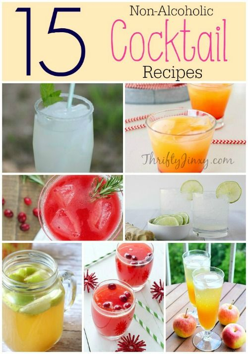 Non-Alcoholic Cocktail Recipes Round-Up - Thrifty Jinxy