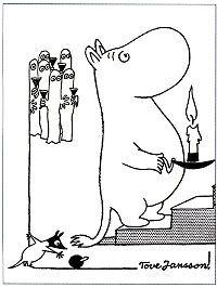 Mumintrollet och hattifnattar
