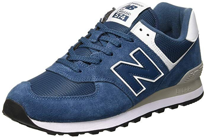 New Balance Ml574esm Sneakers Herren Blau (Sea Smoke White ...