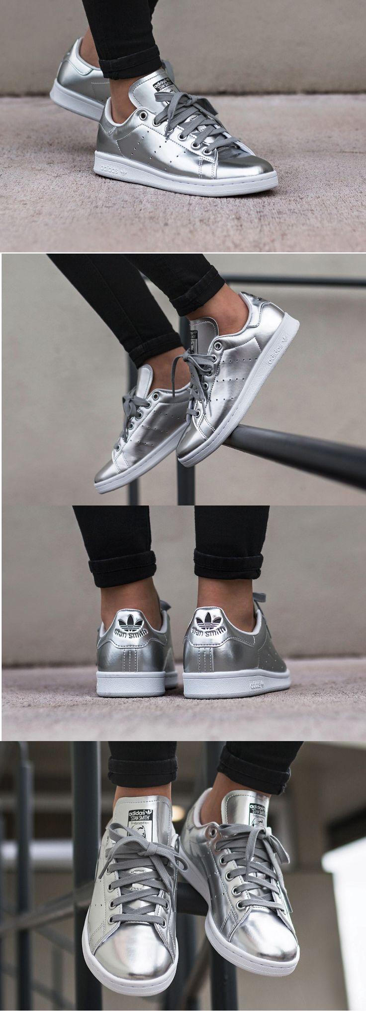 #Adidas #Stan #Smith W #Silver #Metallic http://www.adidas.fr/chaussure-stan-smith/CG3679.html?cm_mmc=AdieAffiliates_PHG-_-sneakersactus-_-home-_-bs-&cm_mmca1=FR&dclid=CPjQxvbx09ICFXgC0wodXLwDmw