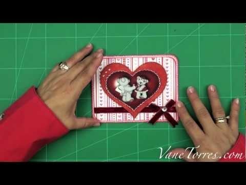 Tarjeta de San Valentin - Día de los Enamorados Corazón