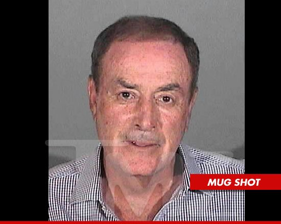 Al Michaels -- The DUI Mug Shot