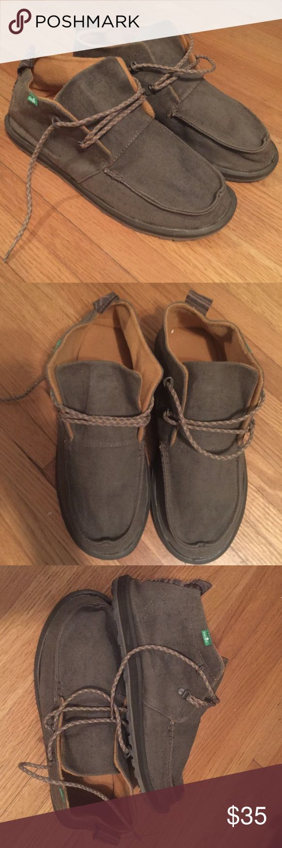 Men's Sanuk Toro boots size 13 Men's Sanuk Toro boots size 13. Only worn a couple of times, great condition. Sanuk Shoes