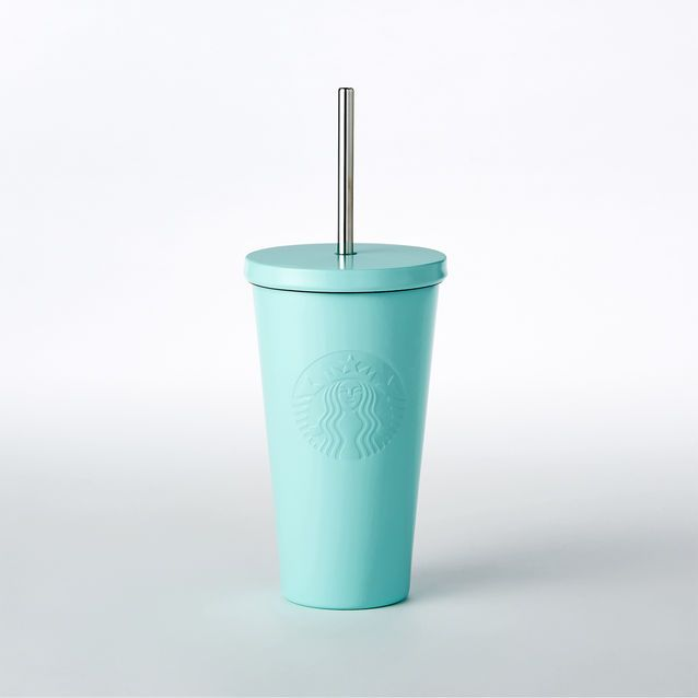 0d3d6289cf8 An insulated stainless steel Cold Cup in fresh mint green, with ...