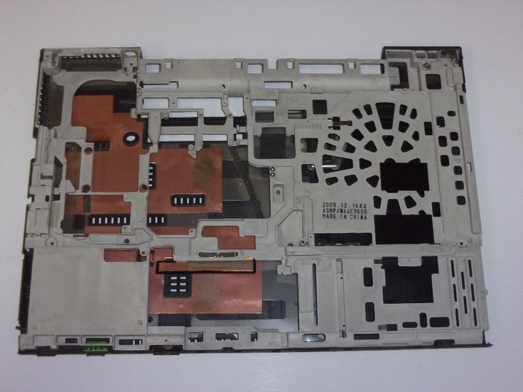Lenovo ThinkPad T500 Laptop Bottom Case w/Frame Black 44C9601 44C9602