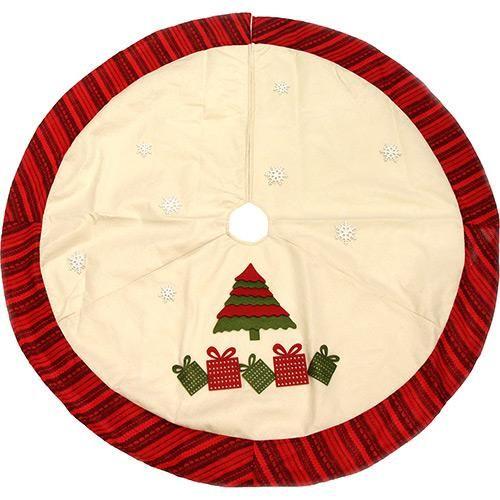 Saia para Árvore de Natal , 106 cm  - Christmas Traditions