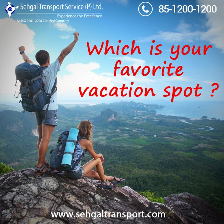 Which is your favorite vacation spot? comment below...