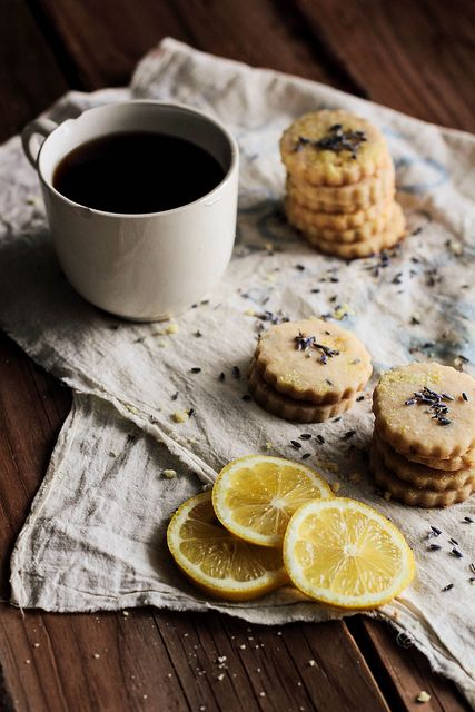 Lemon Lavender Shortbread by Pastry Affair