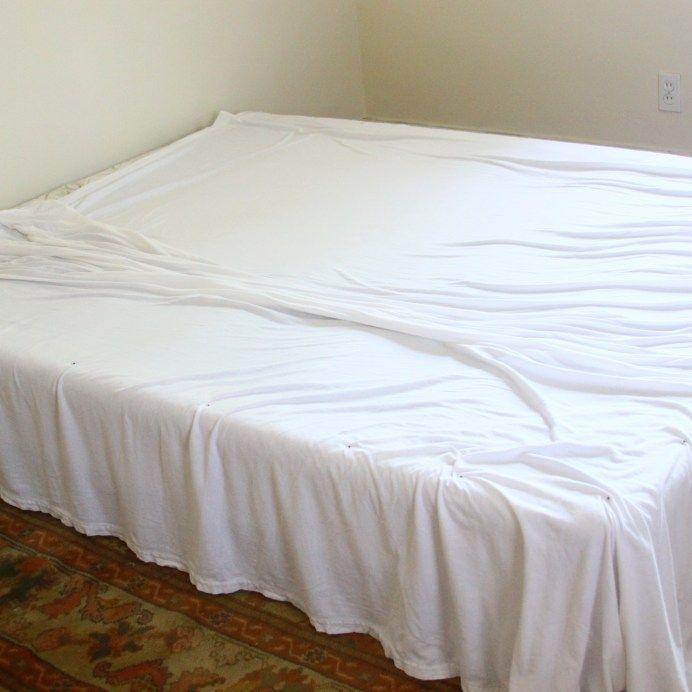 Flat Sheet Bed Skirt