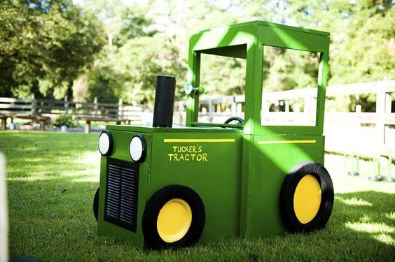These 20 John Deere Tractor Birthday Party Ideas are fun for any little one who loves tractors. A fun play on words is all you need to make it great!