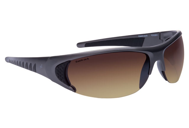 With a rubber grip on the temples and brown lenses for better contrast. Eye Sport from Fastrack http://www.fastrack.in/product/p202br1/?filter=yes=india=2=23&_=1334213664321